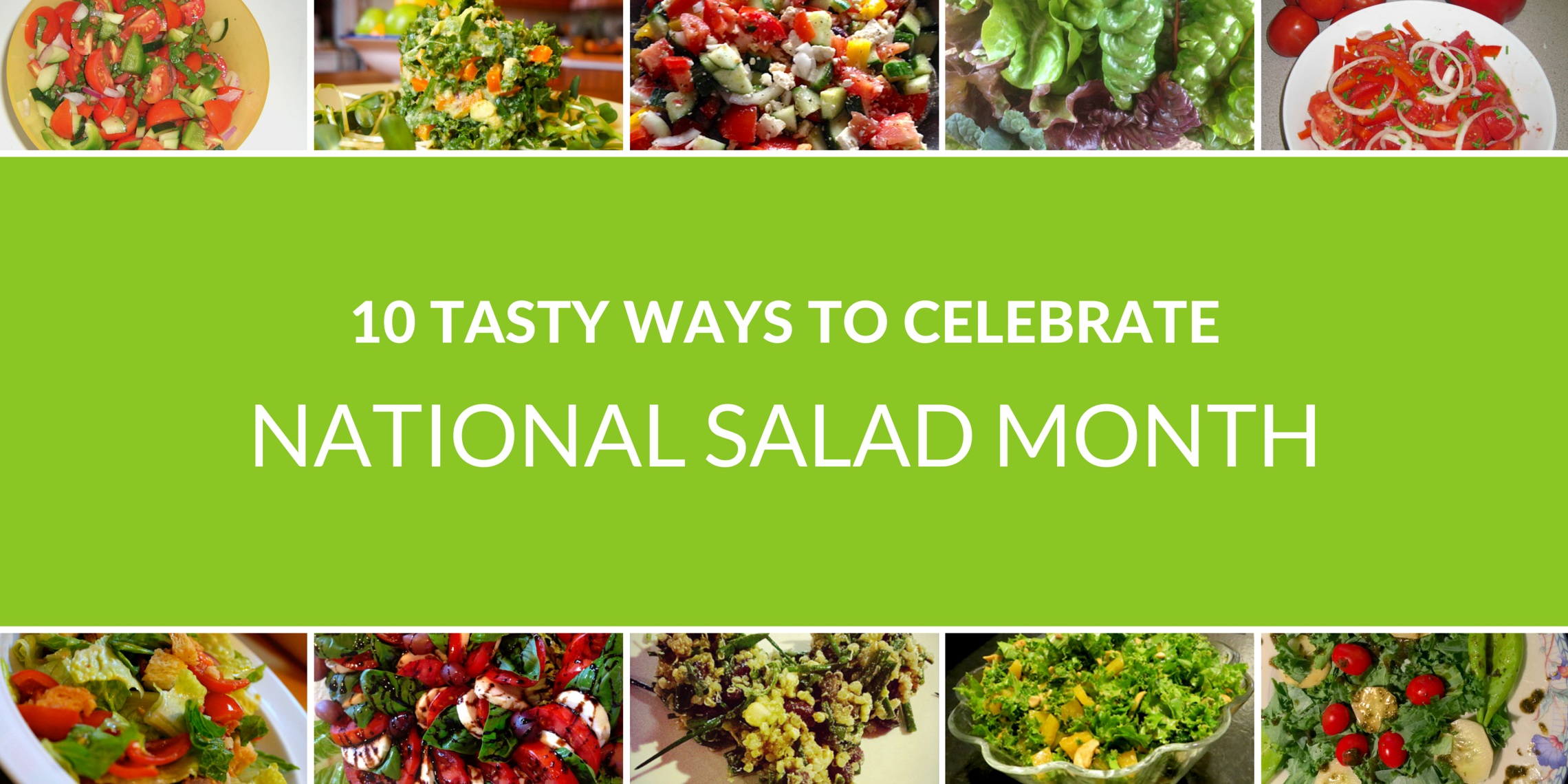 10 Simple Salads You Can Make with Your Garden Harvests