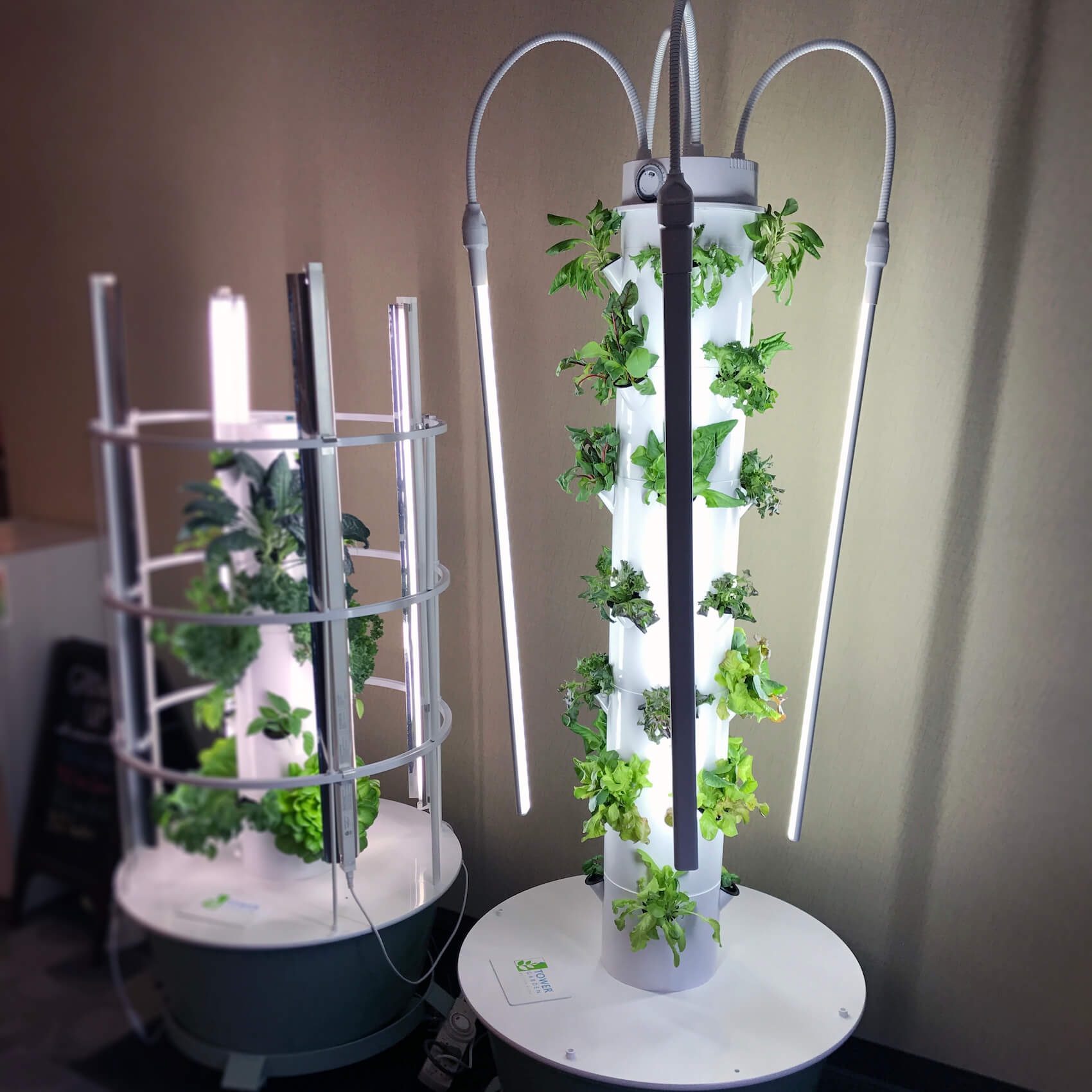 your tower garden customer care team grows indoors too - Tower Garden