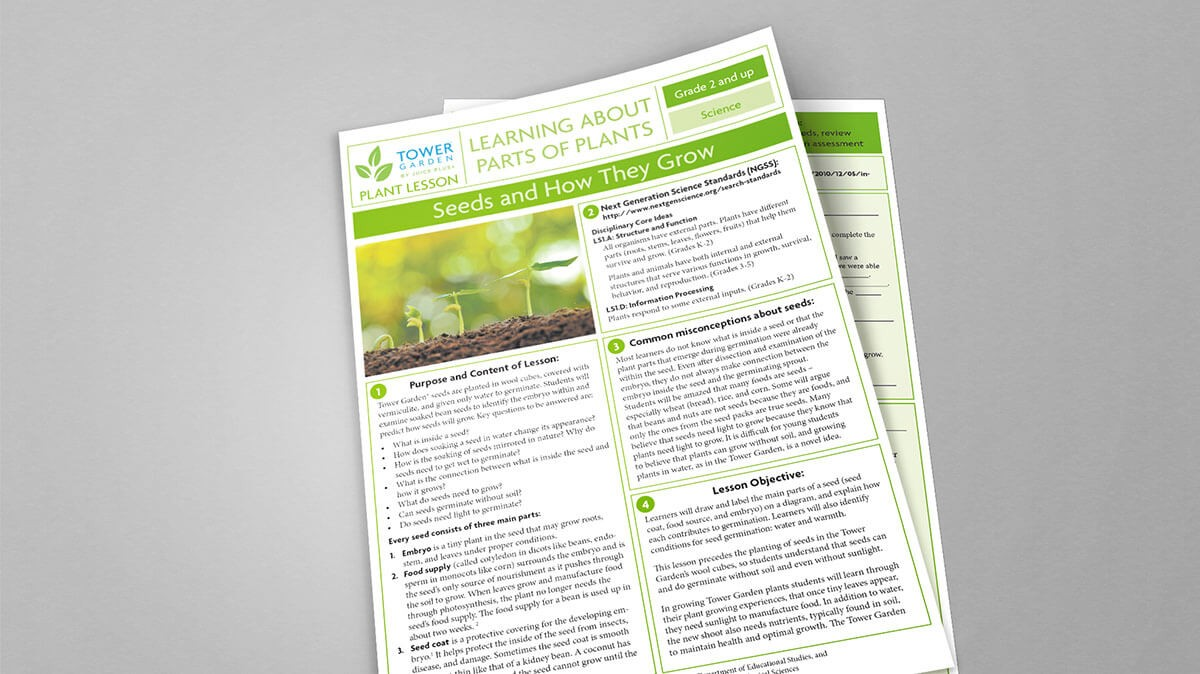 Lesson Plans For School Tower Gardens Free Educator Resources
