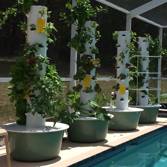 tower garden grow food with a vertical aeroponic system - Tower Garden
